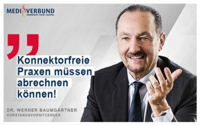 """Baumgärtner: """"Konnektorfreie Praxen müssen ungehindert abrechnen können"""""""