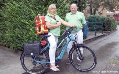 E-Bikes kommen bei VERAH und Patienten gut an