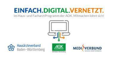 Unser gemeinsames Vernetzungsprojekt mit AOK und HÄV in Baden-Württemberg