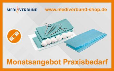 Chirurgische Wundversorgungs- und Naht-Sets sowie Patienten-Abdecktücher im Angebot